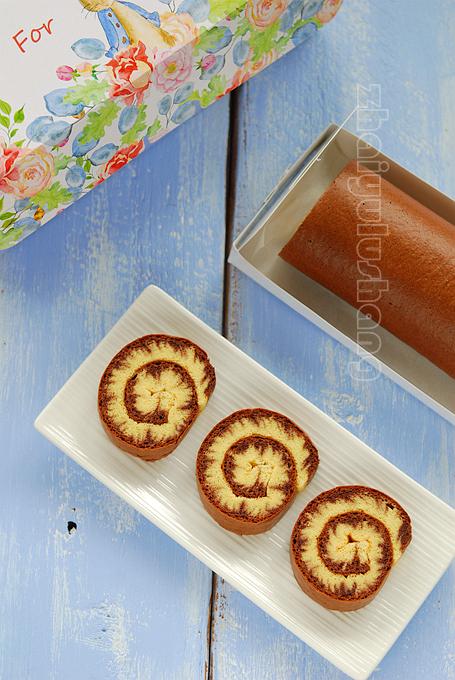 巧克力旋风蛋糕卷