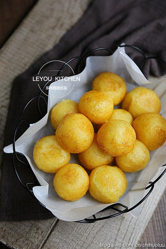 金黃酥脆土豆丸