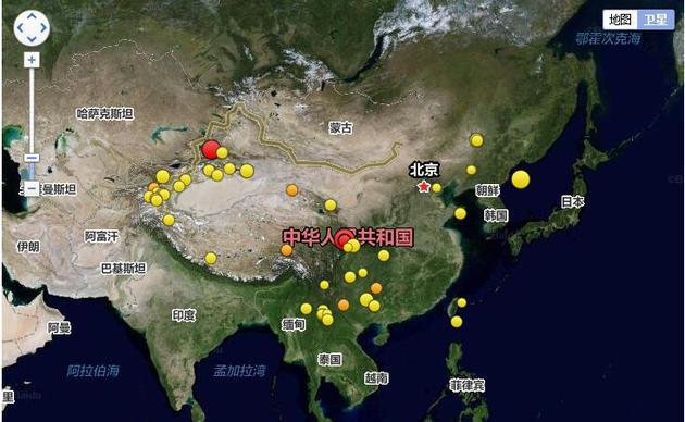 2017年08月08日21时19分,四川阿坝州九寨沟县发生7.0级地震;2017年8月9日7时27分,新疆博尔塔拉州精河县发生 6.6级地震。 为灾区祈福