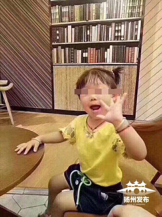 4岁女童生前照片-江苏高邮4岁失踪女孩确认死亡 水塘内发现尸体图片