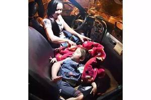 三岁女孩竟在副驾驶度过900个长夜