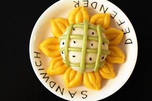 宝贝最爱的花样主食--向日葵馒头(图)
