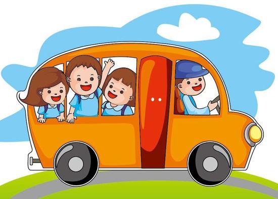 广州白云区的小村孩子们有了定制校车