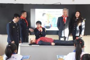 中俄首次启动水上交通安全知识进校园宣讲活动