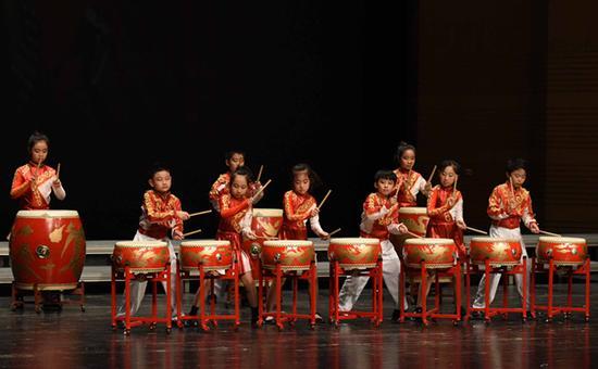 中国鼓《凤鸣朝阳》