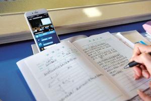 在线教育网红教师月收入过十万 2天记1千个单词