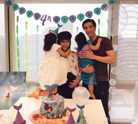 王力宏妻子第三胎产期将近