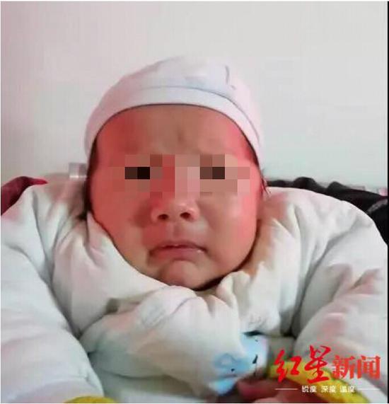 ▲ 被遗弃的男婴