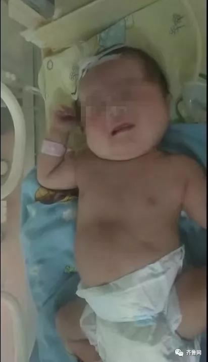 男婴(图据齐鲁网)