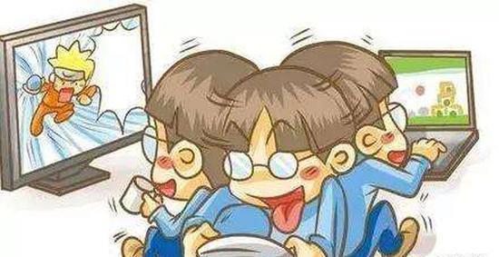 眼镜学霸卡通图片