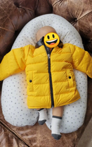 甄子丹送婴儿服