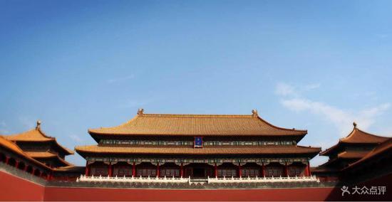 儿童北京故宫简笔画