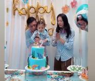 陈冠希为2岁女儿办生日派对