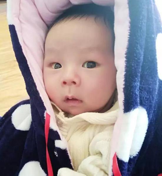 宝宝冷可爱图片