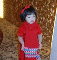 李湘晒女儿旧照