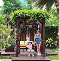 林志颖娇妻陈若仪与儿子拍合照