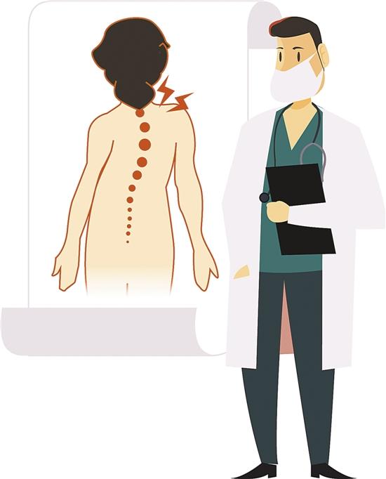 脊柱侧弯这件麻烦事 越早重视治疗越好