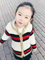 戚薇李承铉4岁女儿lucky近照公开