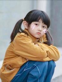 张子枫童年照曝光