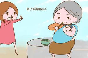 老人带孩有这3种行为得劝,第三种为了孩子安全