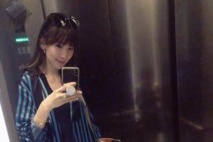 林志颖老婆接Kimi放学被儿子吐槽:你怎么穿这样?