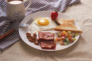 你为孩子做的早餐合格吗?