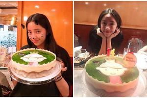 欧阳娣娣与家人庆14岁生日 欧阳娜娜暖心奔回家