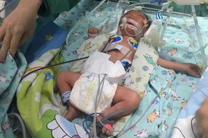 海口一男婴早产患病被遗弃 生父涉嫌遗弃罪被刑拘