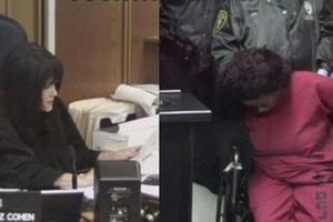 美国女子涉谋杀儿女养母被禁见孩子 庭上大骂法官