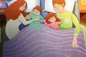 产后妈妈一定不要和老公分开睡,后果很严重!