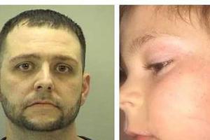 美国男子当众脱6岁儿子裤子猛打屁股 涉虐童被捕