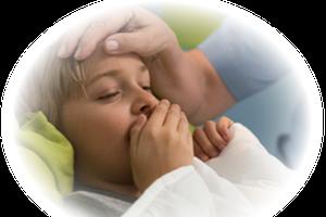 孩子夜间咳嗽或是消化不良