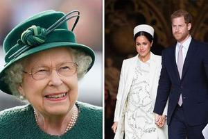 英媒预测王妃梅根本周生产 宝宝或与女王同日生日