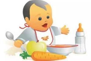 给宝宝加辅食 结合月龄调整食物软硬