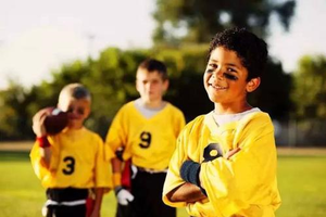 热爱运动 孩子才有出息