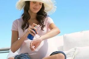 孕妈妈也要注意防晒 可选择物理性防晒霜