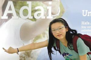 杭州六年级女生一年写了50多首英文诗