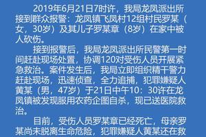 """四川江油通报""""母子在家中被砍"""":8岁儿子死亡"""