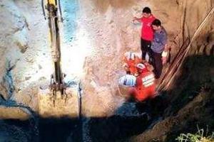 江蘇沛縣2歲幼童掉進12米深井獲救 狀態良好送醫