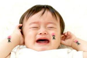小婴儿如何应对蚊虫叮咬