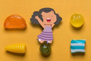 """健康饮食 加强锻炼 暑假不做""""小糖人"""""""