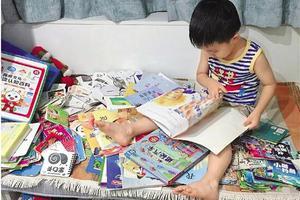 幼儿园男孩一个月看60本书 妈妈做亲子笔记帮打卡