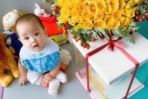 郑嘉颖陈凯琳结婚一周年 发可爱宝宝照片超温馨