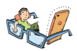 近七成受访学生家长称孩子暑假期间视力下降