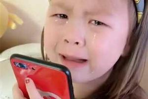 5岁萌娃被妈妈教训 含泪向姥姥求助:替我报仇