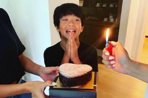 Joe11岁啦!曹格吴速玲为儿子庆生感慨颇多