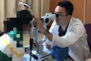 医生为女儿全班同学护眼:小目标是三年不新增近视