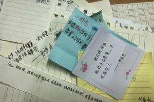 初二学生因手术未返校 同学写信:赶紧回来补作业