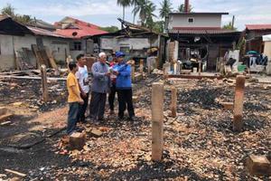 为了看消防员灭火 大马熊孩子放火烧了12所房子
