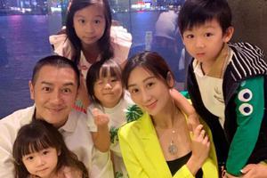 陈浩民为6岁儿子庆生 不忘心疼蒋丽莎生娃辛苦